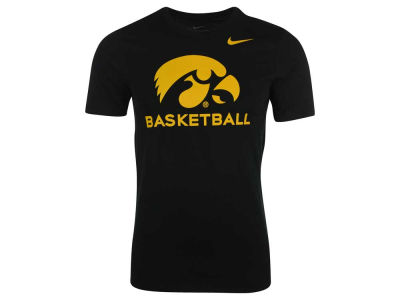 Iowa Hawkeyes Nike NCAA Men's Basketball Cotton T-Shirt