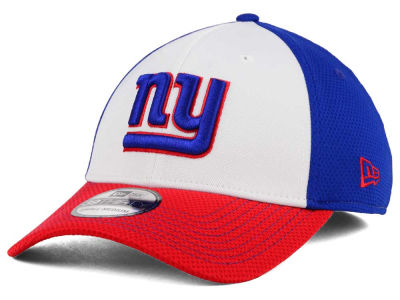 New York Giants New Era NFL Chase White Front Mesh 39THIRTY Cap