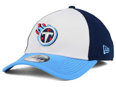 Tennessee Titans New Era NFL Chase White Front Mesh 39THIRTY Cap