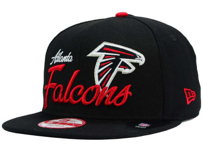 Atlanta Falcons New Era NFL Chase Script Front 9FIFTY Snapback Cap