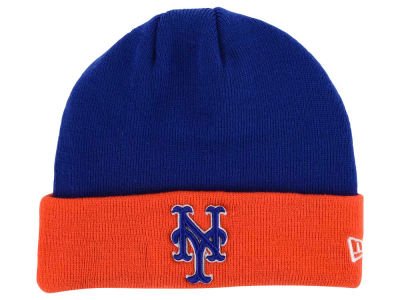 New York Mets New Era MLB Basic Cuff Knit