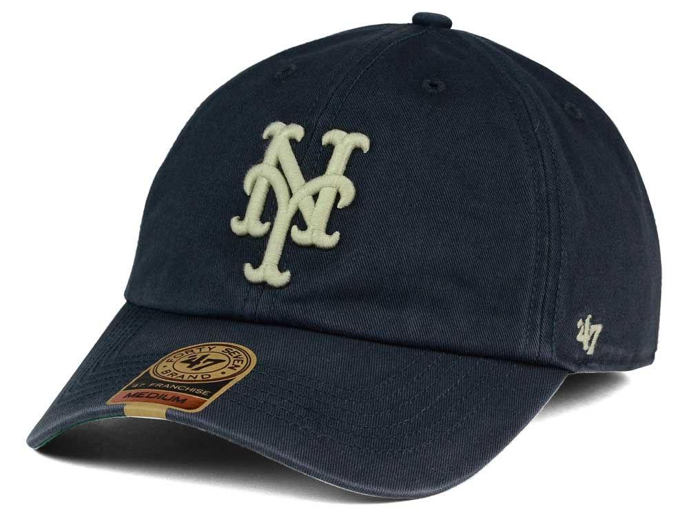 55601bf72de New York Mets  47 MLB Vintage  47 FRANCHISE Cap