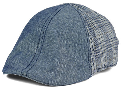 LIDS Private Label Plaid/Chambray 6 Panel Ivy