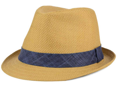 LIDS Private Label Raffia Fedora