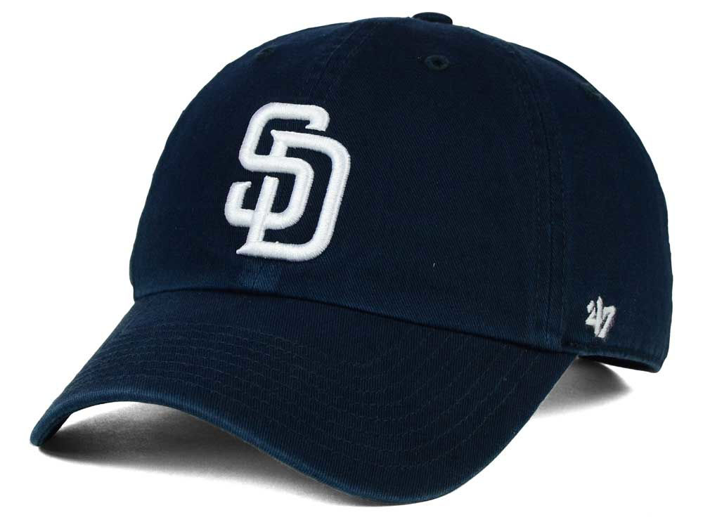 ded08a3c0 San Diego Padres  47 MLB On-Field Replica  47 CLEAN UP Cap