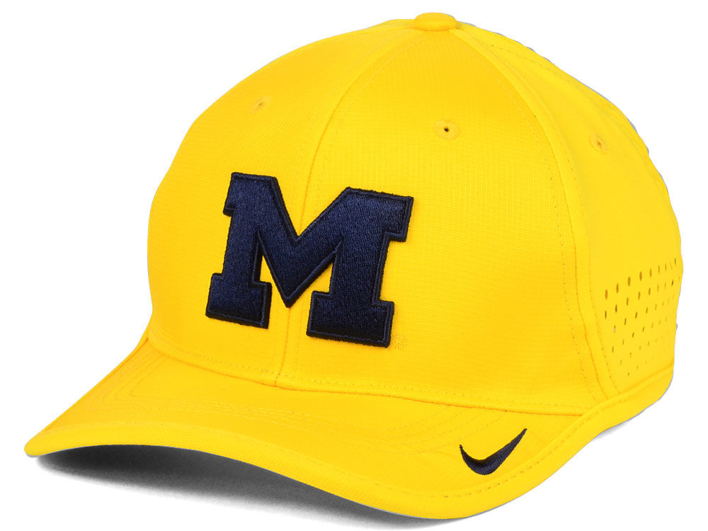 check out 893b9 64c55 reduced michigan wolverines nike ncaa vapor sideline coaches cap 3f23c fd634