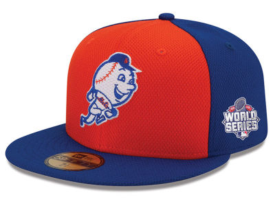 New York Mets New Era MLB 2015 World Series DE Patch 59FIFTY Cap