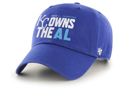 Kansas City Royals '47 MLB 2015 League Champ '47 CLEAN UP Cap
