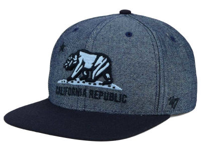 California Giovanni Denim Snapback Cap