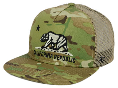 California Myers Camo Trucker Cap