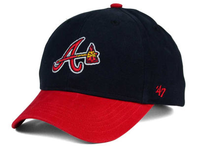 Atlanta Braves '47 MLB Kids Short Stack '47 MVP Cap
