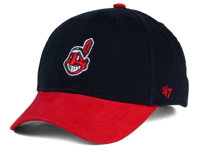 Cleveland Indians '47 MLB Kids Short Stack '47 MVP Cap