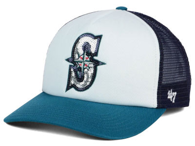 Seattle Mariners '47 MLB Glimmer '47 Captain Snapback Cap