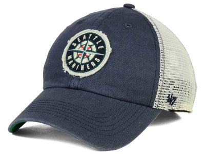 Seattle Mariners '47 MLB Tally '47 CLEAN UP Cap