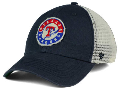 Texas Rangers '47 MLB Tally '47 CLEAN UP Cap