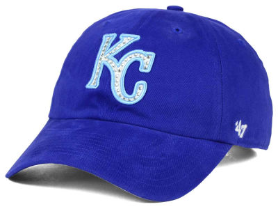 Kansas City Royals '47 MLB Gemstone '47 CLEAN UP Cap