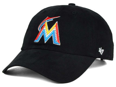 Miami Marlins '47 MLB Gemstone '47 CLEAN UP Cap