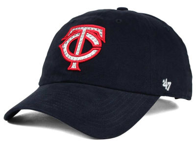 Minnesota Twins '47 MLB Gemstone '47 CLEAN UP Cap