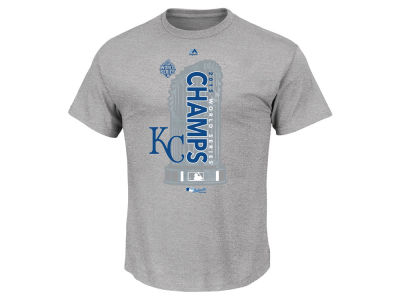 Kansas City Royals Majestic MLB Men's 2015 World Series Champ Locker Room T-Shirt