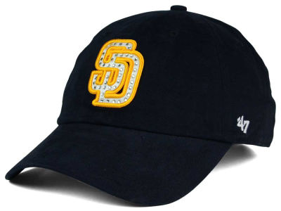 San Diego Padres '47 MLB Gemstone '47 CLEAN UP Cap