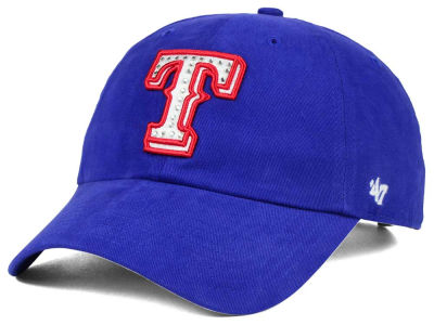Texas Rangers '47 MLB Gemstone '47 CLEAN UP Cap