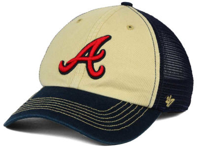 Atlanta Braves '47 MLB Muckle Mesh '47 CLOSER Cap