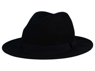 LIDS Private Label Black Felt Widebrim Hat