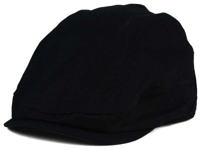 LIDS Private Label Cotton Basket Weave Pattern Flat Cap