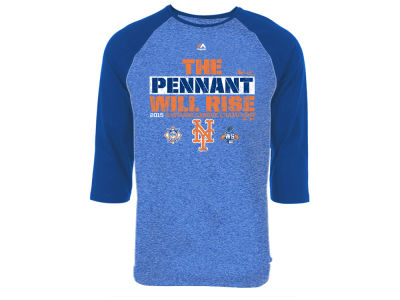 New York Mets MLB Men's League Champ Raglan T-Shirt