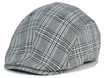 LIDS Private Label Black Plaid Linen Ivy Hat