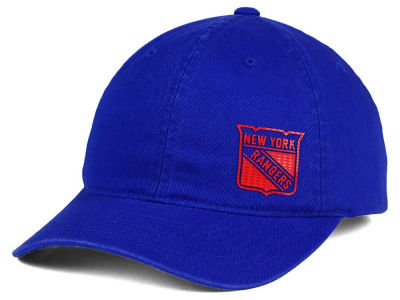 New York Rangers Old Time Hockey NHL Women's Quick Stick Adjustable Hat