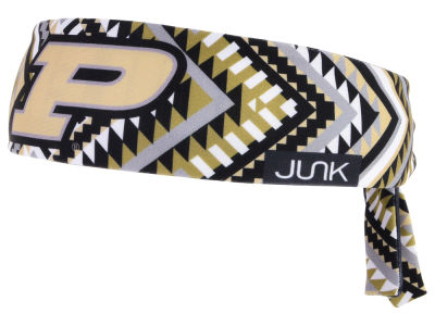 Purdue Boilermakers Junk Brands NCAA Flex Tie Headband
