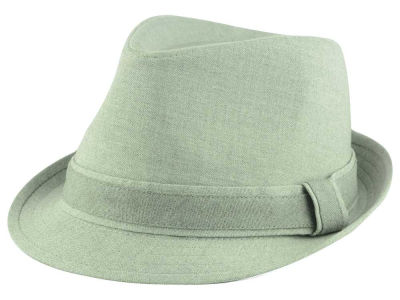 LIDS Private Label Grey Suiting Fedora