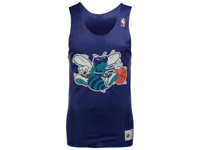 Charlotte Hornets Mitchell and Ness NBA Men's Drop Step Reversible Mesh Tank
