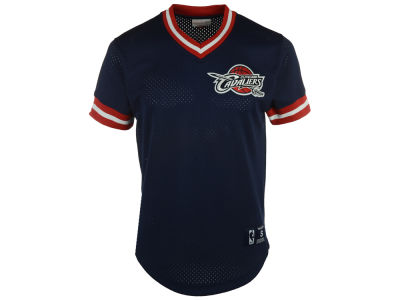 Cleveland Cavaliers Mitchell and Ness NBA Men's Color Switch Baseball Top