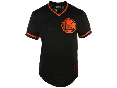 Golden State Warriors Mitchell and Ness NBA Men's Color Switch Baseball Top