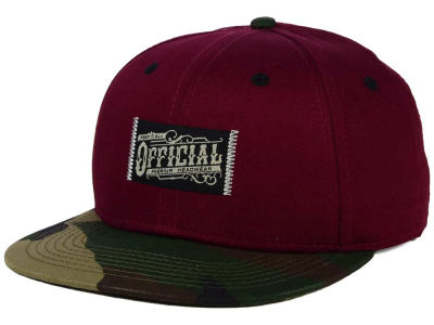 Official Workwear Camo Snapback Hat