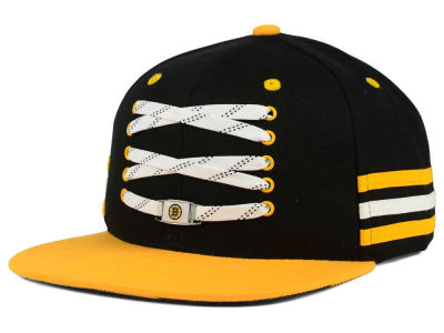 Boston Bruins Zephyr NHL Lacer Locker Room Hat