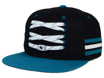 San Jose Sharks Zephyr NHL Lacer Locker Room Hat