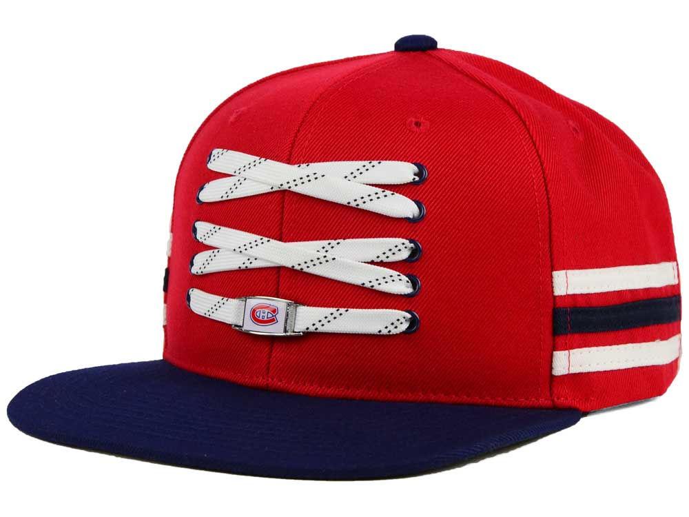 Montreal Canadiens Zephyr NHL Lacer Locker Room Hat  b7cd028f14e6