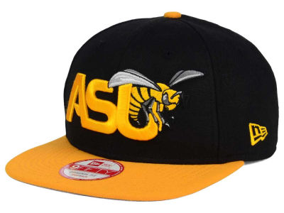 Alabama State Hornets New Era NCAA Logo Grand Redux 9FIFTY Snapback Cap