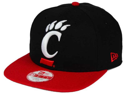 Cincinnati Bearcats New Era NCAA Logo Grand Redux 9FIFTY Snapback Cap