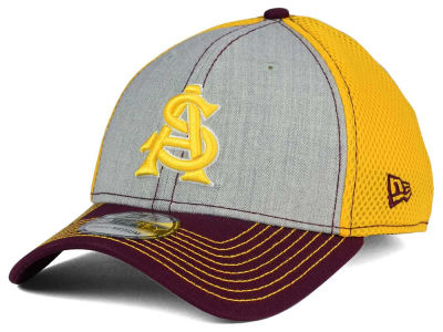 Arizona State Sun Devils New Era NCAA Heathered Neo 39THIRTY Cap