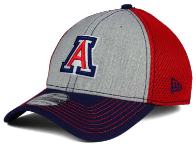 Arizona Wildcats New Era NCAA Heathered Neo 39THIRTY Cap