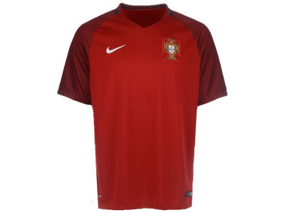 Portugal Nike MLS Men's 2016 National Team Home Stadium Soccer Jersey