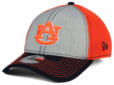 Auburn Tigers New Era NCAA Heathered Neo 39THIRTY Cap