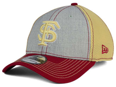 Florida State Seminoles New Era NCAA Heathered Neo 39THIRTY Cap