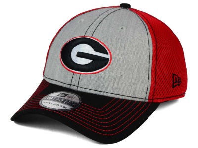 Georgia Bulldogs New Era NCAA Heathered Neo 39THIRTY Cap