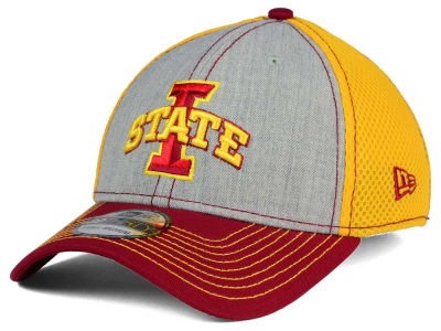 Iowa State Cyclones New Era NCAA Heathered Neo 39THIRTY Cap
