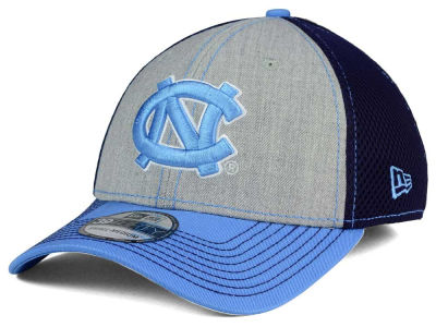 North Carolina Tar Heels New Era NCAA Heathered Neo 39THIRTY Cap